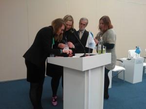 Signing of Memorandum of Understanding between 4 clusters on Baltic Sea Days in St.Petersburg, 22.3.2018
